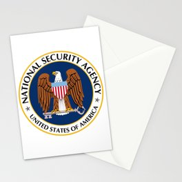 Seal of the National Security Agency Stationery Cards