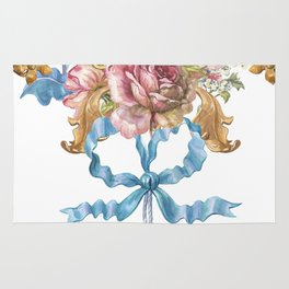 Collection of Baroque. Flower Arrangement 3 Rug