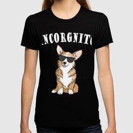 Corgi - incorgnito T-shirt
