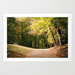 Autumn in Wisconsin Art Print