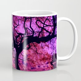 Under the Tree in Pink and Purple Coffee Mug