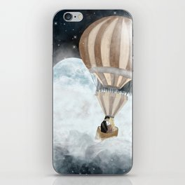 moonlight kisses iPhone Skin