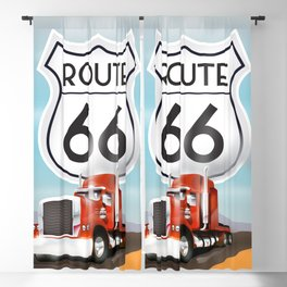 Route 66 Blackout Curtain