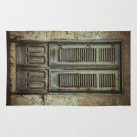 italian Area & Throw Rugs featuring Italian Door III by Maria Heyens