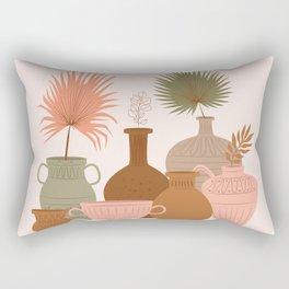 Portrait, Vase, Ceramic, Jug ,Vertical Rectangular Pillow