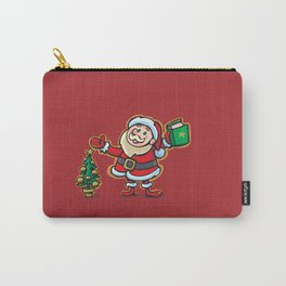 Santa Claus and Wish Balloon Carry-All Pouch