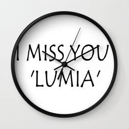 LUMIA Wall Clock
