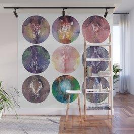 Nine Vaginas, Verronica Kirei's Solar System Design Art Print Wall Mural