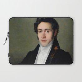 Portait of young Niccolò Paganini Laptop Sleeve