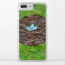 Birds Nest Clear iPhone Case