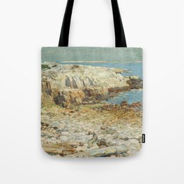Childe Hassam A North East Headland 1901 Painting Tote Bag