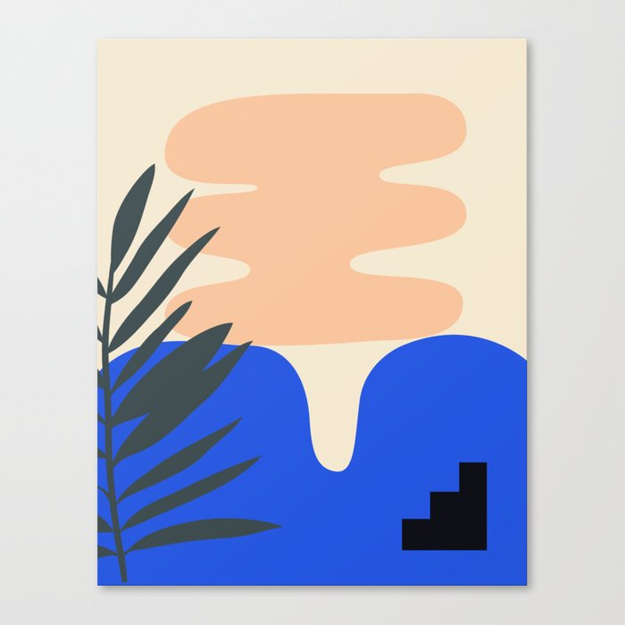 Shape study #14 - Stackable Collection Canvas Print