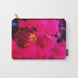 Pretty in Pink Crape Myrtle Carry-All Pouch