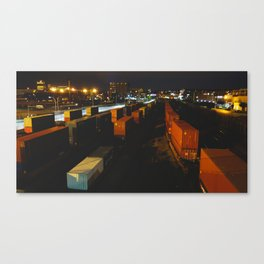 trains Canvas Print