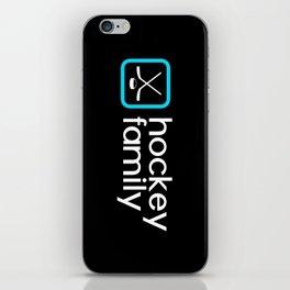 Hockey Family (Blue) iPhone Skin
