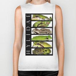 Tree frogs of North America - Hylidae Biker Tank