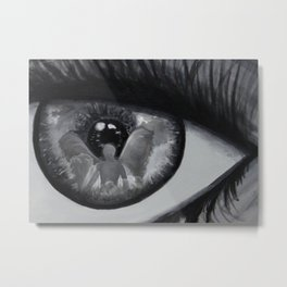 Guardian Angel Through My Eyes Metal Print