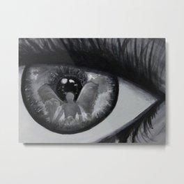 Guardian Angel Through My Eyes Metal Print
