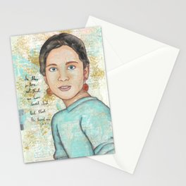 He Loved Us by patsy paterno Stationery Cards