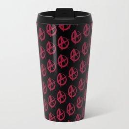 Anarchy Pattern Travel Mug