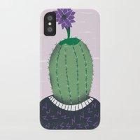 cactus iPhone & iPod Cases featuring Cactus by Rodrigo Fortes
