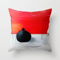 asia Throw Pillows featuring Asia design by LoRo  Art & Pictures