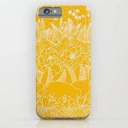Sunshine Lemonade Garden iPhone Case