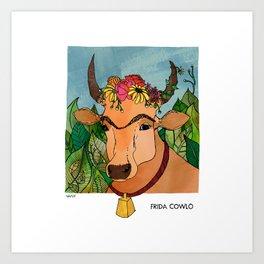 Frida Cowlo Art Print