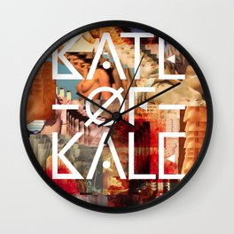Kate of Kale's Slut Avenue Wall Clock