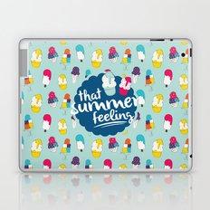 That summer feeling - Blue Laptop & iPad Skin