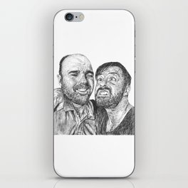 Karl Pilkington - Ricky Gervais, we need more of them! iPhone Skin