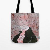 washington Tote Bags featuring Washington by Doren Chapman