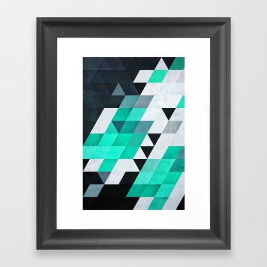 mynt Framed Art Print