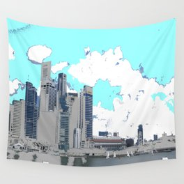 I Am Sailing Wall Tapestry