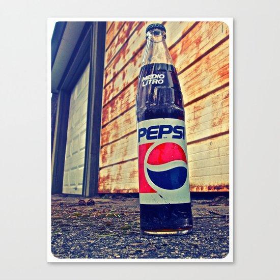 Classic Pepsi Canvas Print