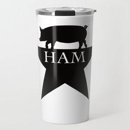 A Ham on a Star Travel Mug