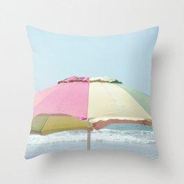 Just Beachy Throw Pillow
