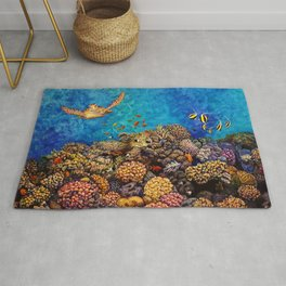 Coral Bliss Rug