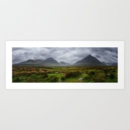 Stormy Highlands Art Print