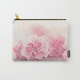 Pale Pink Carnations 4 Carry-All Pouch