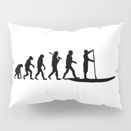 Stand Up Paddling Evolution Pillow Sham