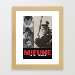 Mifune: The Last Samurai Framed Art Print