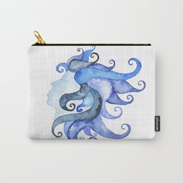 Mermaid Head Carry-All Pouch
