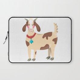 Cute Goat Laptop Sleeve