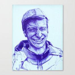 Mark Hero Canvas Print