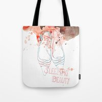 shoes Tote Bags featuring shoes by Sabine Israel