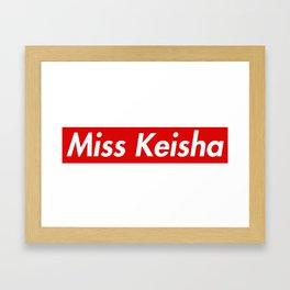 Miss Keisha Vine Framed Art Print