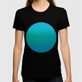 Ombre, Blue to Teal T-shirt