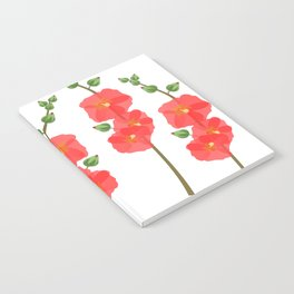 Poppin' Poppies Notebook