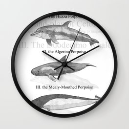 III. The Duodecimo Whale Wall Clock